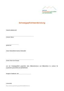Schweigepflichtentbindung 100 010 Standard Systeme 15