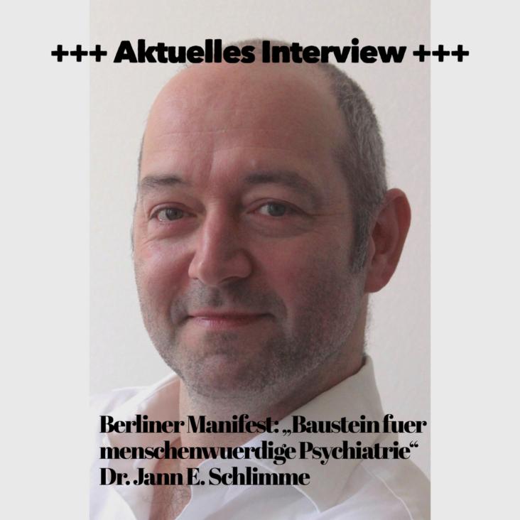 Interview mit Dr. Schlimme zum Berliner Manifest