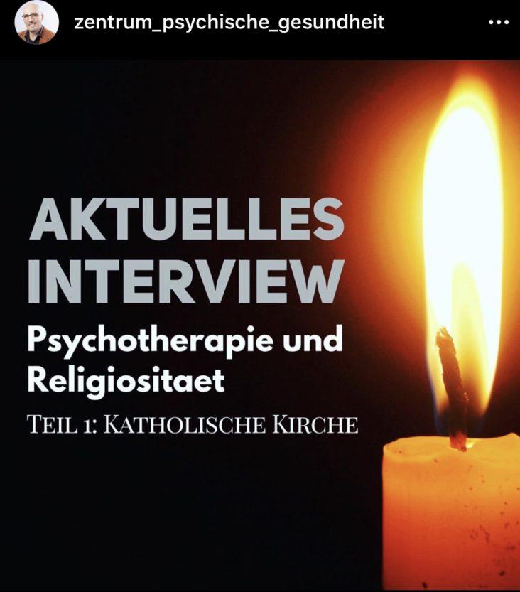 Psychotherapie, Psychiatrie und die katholische Kirche